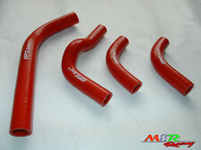 For Honda CRF250R CRF250X 2004-2009 coolant radiator+ silicone hose red new