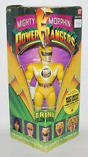 "1993 Power Rangers TRINI (Yellow Ranger) 8"" Action Figure - NIP"