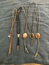 5 FIVE ASSORTED BOLO TIES