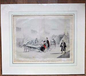 """"""" Scene En The Gran Ir School"""" - Estudiantes Oxford - Antiguo Presión,Aprox."""