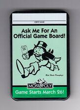 RARE PINS PIN'S ..  MC DONALD'S RESTAURANT USA CREW TEAM MONOPOLY BROCHE BIG ~19