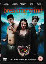 DVD - Breaking Wind - Versione Inglese - UK Edition- Breaking dawn parody| usato