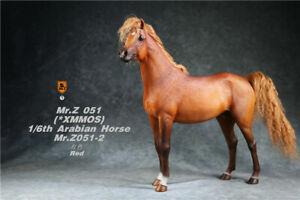 Mr.Z 1/6th Animal Model No.51 Red Arabian Horse Resin Animal Statue Toy