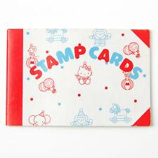 Vintage Sanrio Hello Kitty Stamp Cards Book Thank You Happy Birthday Japan 1976