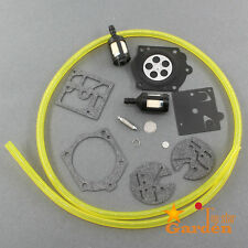 Carb Repair Rebuild Kit F Mcculloch Pro Mac 610 650 655 Craftsman 3.7 Timberwolf
