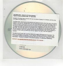 (GH187) The Radio Dept, Heaven's On Fire  - 2010 DJ CD