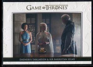 2016 Game of Thrones Season Five Relationships Gold 24 Targaryen Selmy 139/225