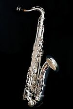 Chateau Tenor Saxophone Student Model Silver Body VCH-233S
