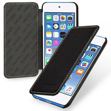 for Apple iPod Touch 6th Genuine Leather Flip Case Cover (9Color) Black Blue Red