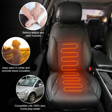 Universal Car Leather Heated Heating Seat Cover Cushion Pad For Ford F150 Focus