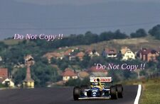 Damon Hill Williams FW15C WINNER ungherese GRAND PRIX 1993 fotografia 5
