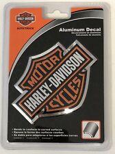 Harley-Davidson Bar & Shield Aluminum Bendable Sticker Decal Emblem NEW
