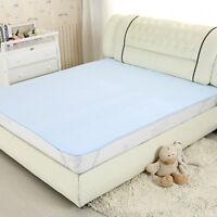 Draps de lit d'incontinence lavables et imperméables BM
