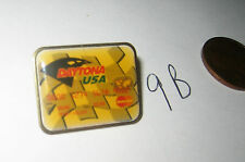 VINTAGE RACING 1996 DAYTONA USA Mastercard CREDIT CARD VEST PIN BADGE BIKE WEEK?