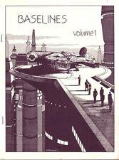 """Star Trek Star Wars Fanzine """"Baselines 1,2,3"""" GEN Battlestar Galactica Wild West"""