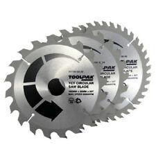 Lames de scie circulaire TCT 180 mm x 30 mm TCT 20 T 24 T 40 T Toolpak Professionnel x 3