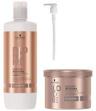 NEW Schwarzkopf BLONDME Keratin Restore Bonding Shampoo 33.8oz & Mask 16.9oz