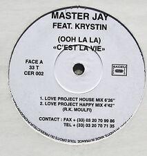 MASTER JAY feat KRYSTIN..(OOH LA LA) C'EST LA VIE..MAXI