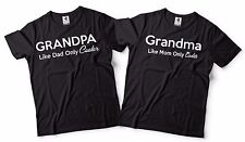 Funny Grandpa And Grandma Matching T-shirts Gift For Grandparents Cool T-shirts
