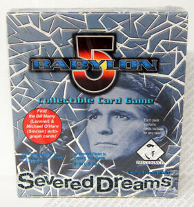 Babylon 5 CCG Severed Dreams Edition Booster Box 24 Packs 8 Cards Sealed New