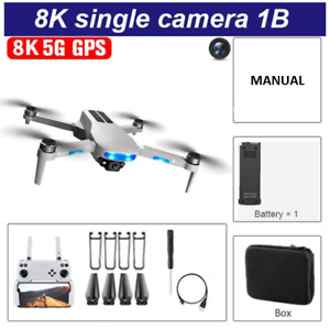 2021 8K HD Camera 5G GPS RC Foldable Drone FPV WIFI Quadcopter Aerial Photograph