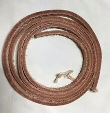"Leather Strapping 1/4"" Wide by 48"" Long (4 ft) Natural Color, 2.9mm Thick"