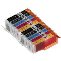 10 NON-OEM INK CARTRIDGE CANON PGI-250 XL CLI-251 XL PIXMA MX722 MX922 MG5422