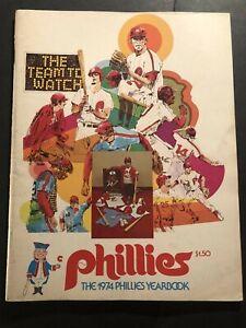 1974 PHILADELPHIA PHILLIES Yearbook LARRY BOWA Luzinski SCHMIDT Boone CARLTON