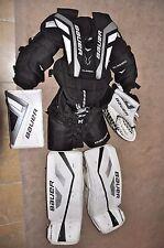 Bauer Jr. Goalie Hockey Pads Set