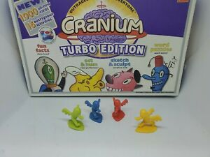 Cranium Turbo Edition Replacement 4 Tokens Parts Pieces Pawns