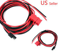 Power Cable Motorola Mobile CDM1550 MCS2000 GTX800 GTX900 Maxtrac XPR HKN9402
