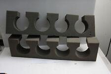 """(2) Delta1 Roll Away Backdrop Holders for 4 Paper Rolls 24x6x3"""" Foam - USED S6"""
