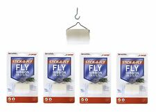 $averPak 4 Pack- JT Eaton 14 Foot Long Stick-A-Fly Glue Fly Strip Ribbons