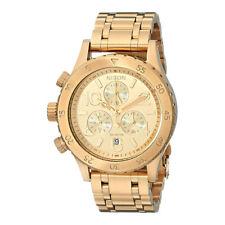 Nixon Gold Ladies Analog Sport 38-20 Chronograph A404501
