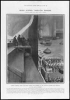 1910 Antique Print - LONDON Crystal Palace National Brass Band Festival (305)