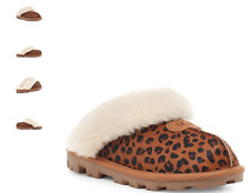 UGG Coquette Leopard Natural Slipper Slip-On Women's US sizes 5-11 NEW!!!