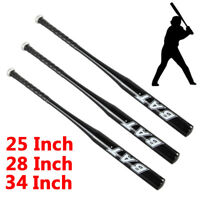 "NEW Aluminum Metal Baseball Bat Racket Softball Outdoor Sport 25 28 34"" Inch QV2"