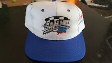 VINTAGE 80s SAMMY SWINDELL WORLD OF OUTLAWS DIRT TRACK RACING HAT