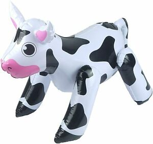 Inflatable Toy Cow Farm Animal Party Decorations Fancy Dress Accessory Props