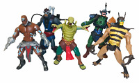 Mattel Masters of the Universe He Man MOTU 200x Action Figures Bundle