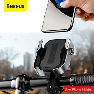 Baseus 360° Universal Bicycle Motorcycle Handlebar Phone Holder Stand For iPhone