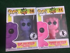 IN HAND Funko Pop Sour Patch Kids GRAPE & STRAWBERRY BUNDLE Limited Edition