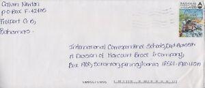 Bahamas -1999 National Trust, 65c Iguana Commercial  Cover - Freeport Cancel