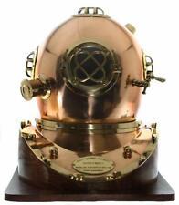 Diving Helmets Maritime 100% Quality Diving Divers Helmet Rosewood Wooden Base Mark V Diving Base Yule Day Gift