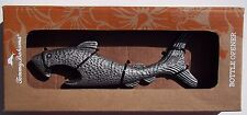 TOMMY BAHAMA BRAND. SHARK BOTTLE OPENER. METAL. NEW IN BOX. 6 INCHES LONG.