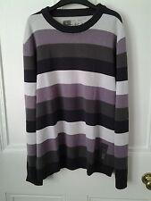 Esprit Mens Cotton Striped Summer Jumper / Jersey - Size UK L - NEW