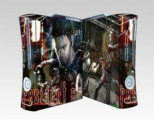 Resident Evil 028  Vinyl Decal Skin Sticker for Xbox360 Console