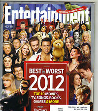 CARLY RAE JEPSEN ONE DIRECTION Entertainment Weekly Magazine 12/28/12 BEST WORST