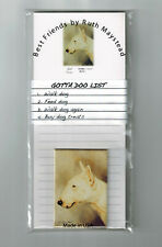 New Bull Terrier Magnetic Refrigerator List Pad & Magnet By Ruth Maystead Blt-2