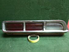1969 Dodge Coronet 500 RT LH driver side tail light 3 bulb Used OEM